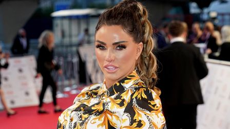 Katie Price at the National Television Awards 2021 held at the O2 Arena, London.