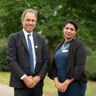 Home Start Suffolk has received a Queen's Award for Voluntary Service.Anthony Horowitz MBE with Tara