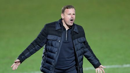 File photo dated 26-12-2020 of Salford City manager Richie Wellens. Issue date: Monday March 22, 202