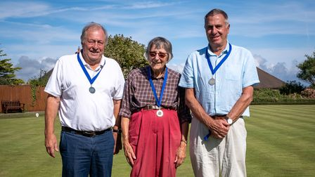 Runners Up - Norman Upchurch, Diana Chance and Stuart White