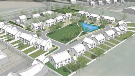 """Accent Homes claim 'a new proposal in this area would help to enliven and complement this residential setting""""."""