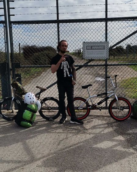 Justin Wakefield is taking on a 250-mile cyclefrom Fakenham to Snowdonia, raising money for Mind