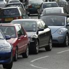 File photo of queuing traffic.