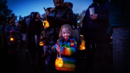 Each evening at The Real Halloween there will be a candlelit parade of animal lanterns through the woods.