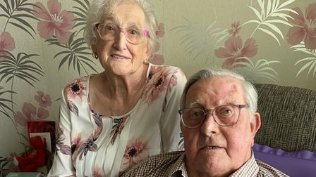 Peter and Christine Gipp, both 86, got married in 1951