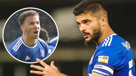 Sam Morsy and Lee Evans are back together at Ipswich, having played together at Wigan