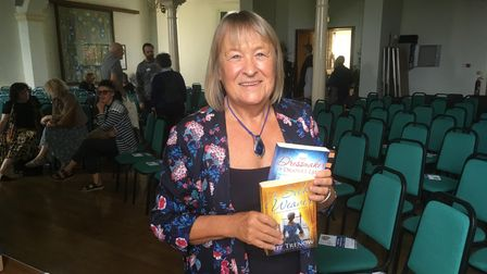 Author Liz Trenow will be speaking at the Bury St Edmunds Literature Festival