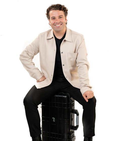 Joe McElderry who is appearing in concert at The Apex on September 26