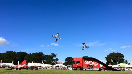 The Broke FMX motocross stunt display team will be at the East Anglian Game and Country Fair 2021.