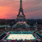 The Eiffel Tower Stadium for the 2024 Games. Pic: Paris 2024 (All rights reserved)