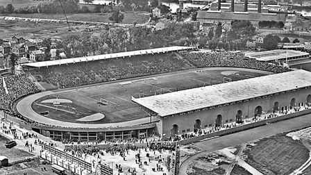 The Olympic stadium in Colombes for the 1924 Games in Paris
