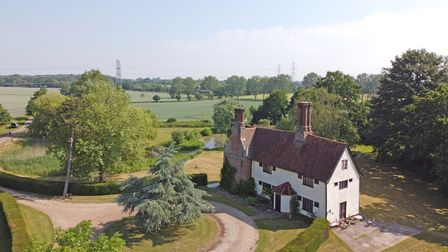 High House Farm in Boulge near Woodbridge, Suffolk, is for sale and surrounded by countryside