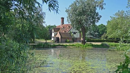 High House Farm in Boulge near Woodbridge sits in over 8 acres and includes a pond