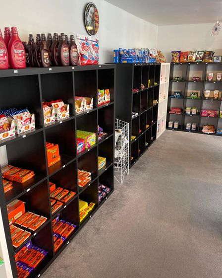 USA Sensations isanAmerican sweet shop which is set to open on St Nicholas Street in Diss.
