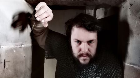 Shakespeare's Macbeth goes to the Dark Ages at the Marina Theatre in Lowestoft
