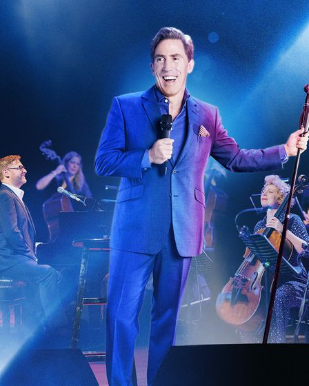 Comedian Rob Brydon is heading to Ipswich this autumn