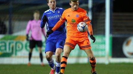 The return of Michael Spillane, pictured in action against Fylde in midweek, makes a big difference