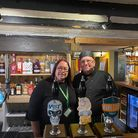 Royal Standard manager Michelle Holbrook with chef Andi Parr. The Dereham pub is set to host a beer and blues festival