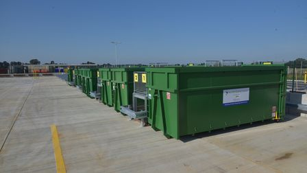 The new Norwich North Recycling Centre