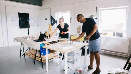 Creatives are encouraged to utilise the space down at Old Jet, where they can collaborate and share ideas