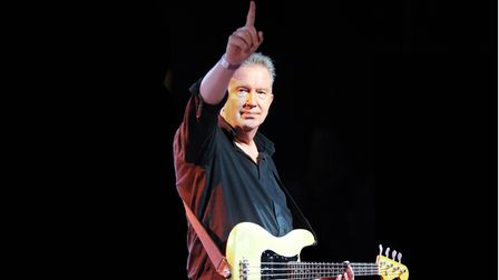 Tom Robinson who is celebrating his 70th birthday with a gig at The Apex