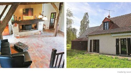 Two-bedroom barn conversion in Indre, ¬77,000
