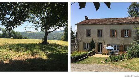 Three-bed farmhouse with land in Tarn, ¬130,000