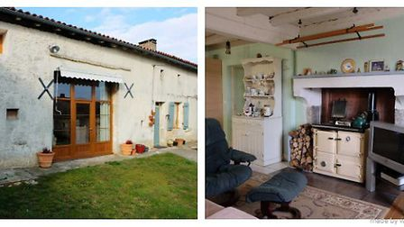 Two-bedroom cottage in Charente, ¬109,000
