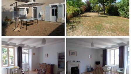 A two-bed cottage in Deux-Sevres for 75,000 euros