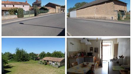 Detached farmhouse and outbuildings in Deux-Sevres, just 85,000 euros