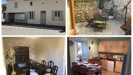 A home and a shop in Dordogne for 100,000 euros