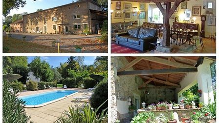 Character farmhouse with 3 gites and pool in Tarn, 766,000 euros