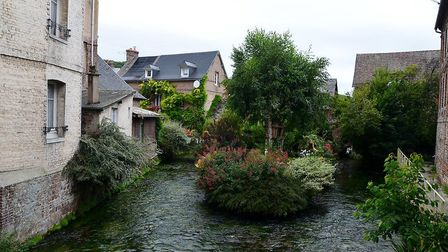 Pretty towns like Cany-Barville are typical of the Pays de Caux (©Creative Commons/Isamiga76)
