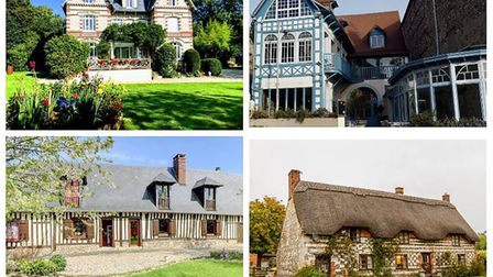 A selection of typical properties for sale (klicc.fr & leforestier-immobilier.com)