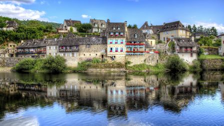 Argentat in Correze is on the Dordogne river (©Getty/RolfSt)