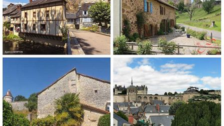 Scroll down to see our pick of French properties near a château