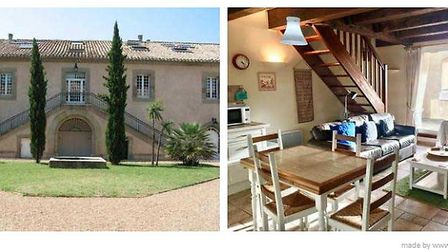 Converted winery apartment in Aude, ¬154,000 (FrancePropertyShop.com)