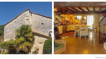 Four-bed village home in Charente 147,150 euros