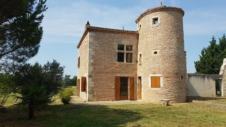 Recently renovated four-bedroom home with tower and mullion windows in Lot-et-Garonne, 344,500 euros