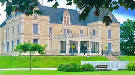 Two-bedroom duplex apartment occupying the east tower of this chateau in Deux-Sevres, 143,000 euros