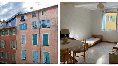 Studio apartment in the Old Town of Nice