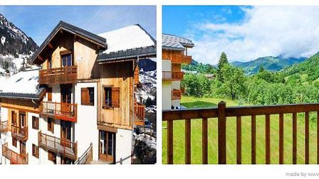 Two-bedroom apartment with shared pool in Savoie
