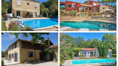 Dream French holiday homes