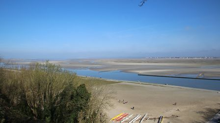 Wide sandy beaches on the Somme Bay (©Janine Marsh)