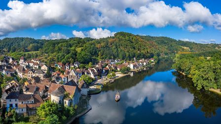 Correze boasts unposilt countryside and charming towns and villages like Beaulieu-sur-Dordogne (©Chr