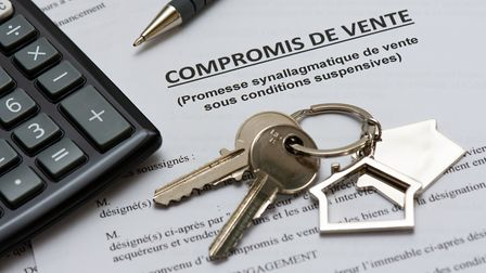 The 'compromis de vente' is the most common type of French property contract