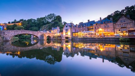 The Grand Ouest is popular with Parisians, including Brittany, home to pretty towns lioke Dinan (©Ge
