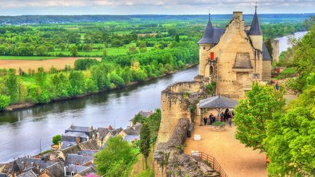 Small towns like Chinon (population 8,000) in the Loire are popular with French second home owners (