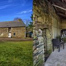 This four-bed farmhouse in Morbihan has outbuildings, a cellar and lots of space to convert into fur