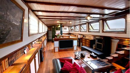 Dutch barge in St Germain on Airbnb